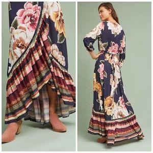 e8ec3f93b9d8 Anthropologie Dresses - NWT Anthropologie Farm Rio Layla Wrap Dress XL